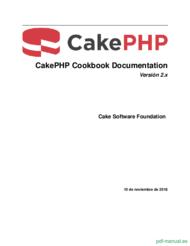 Curso CakePHP Cookbook Documentación 1