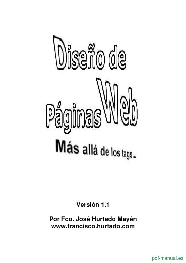 Curso Diseño de páginas web 1