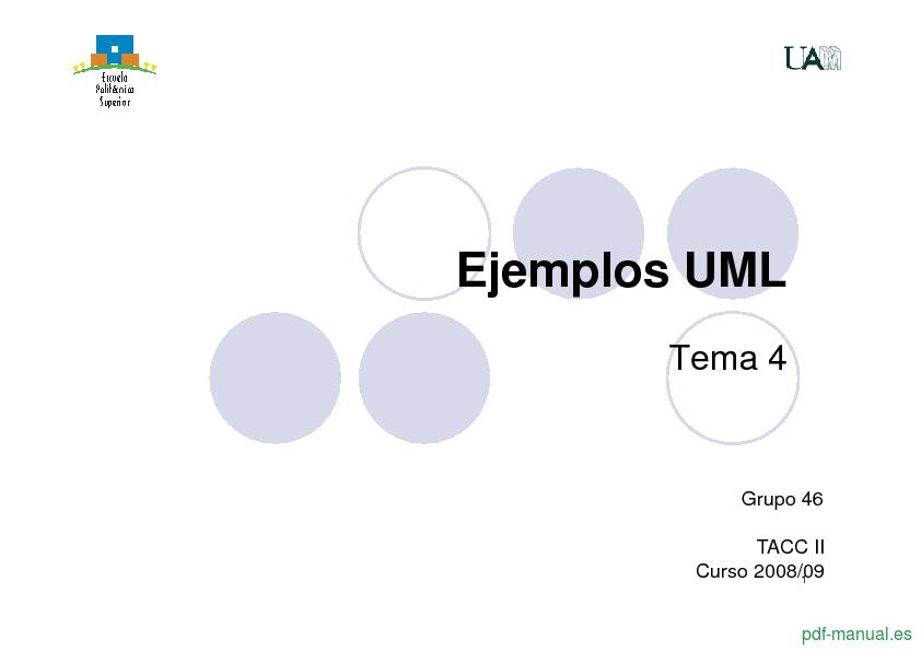 Curso Ejemplos UML 1