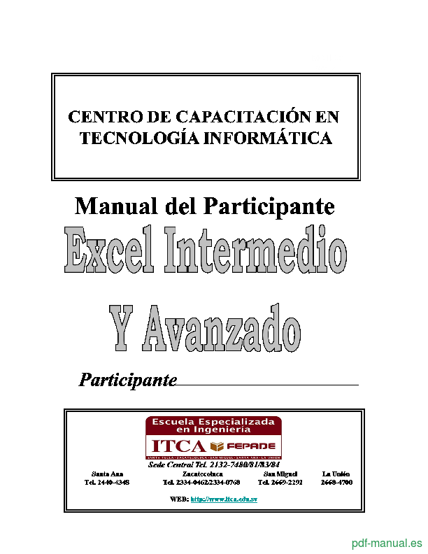 Curso Microsoft Excel intermedio y avanzado 1