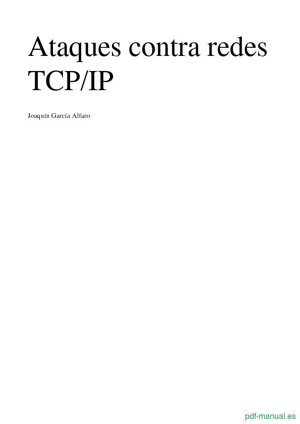 Curso Ataques contra redes TCP/IP 1