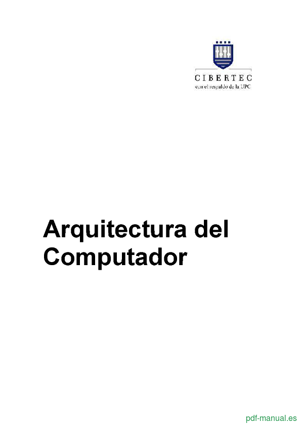 Curso Arquitectura del Computador  1