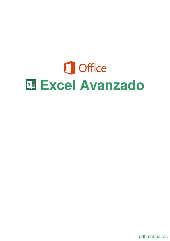 Curso Excel Avanzado 1