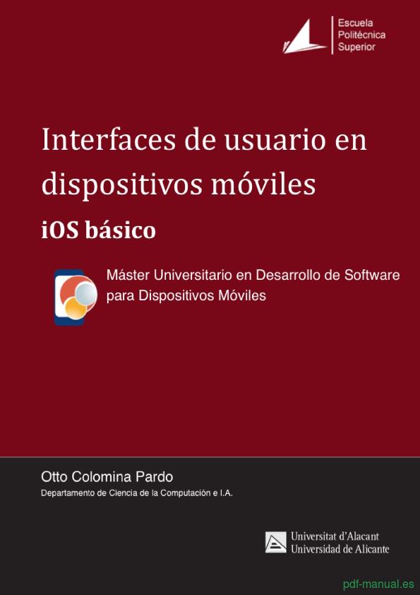 Curso Interfaz de usuario básico en iOS 1