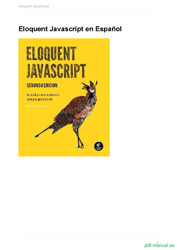 pdf eloquent javascript en espa ol gratis curso rh pdf manual es manual javascript español