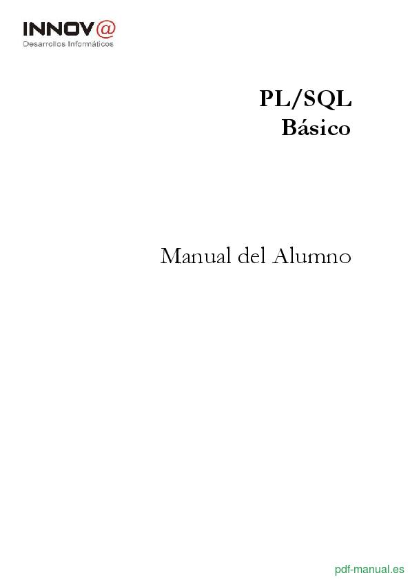 Curso PL/SQL Básico 1