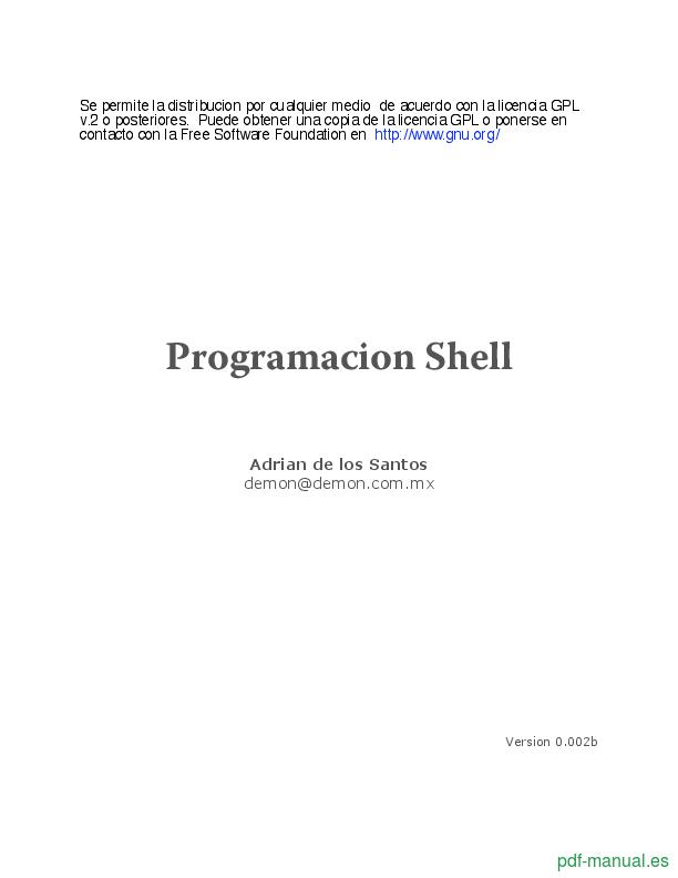 Curso Programacion Shell 1